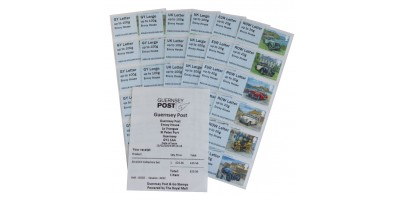 G Series Guernsey Old Car Club Collectors Set